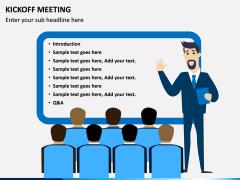 Kickoff Meeting PPT slide 2