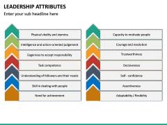 Leadership Attributes PPT Slide 27