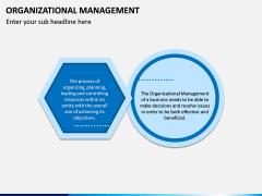 Organizational Management PPT Slide 1