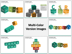 Buzzword cubes PPT slide MC Combined
