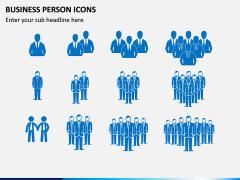 Business Person Icons PPT Slide 7