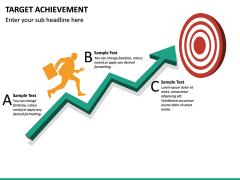 Target Achievement PPT slide 13
