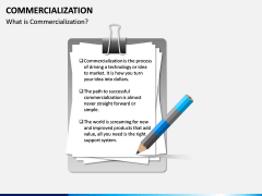 Commercialization PPT Slide 1