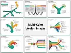 Split Arrows multicolor combined