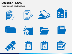 Document Icons PPT Slide 5