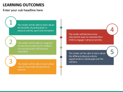 Learning Outcomes PPT Slide 29