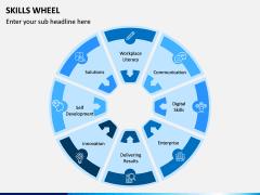 Skills Wheel PPT Slide 6