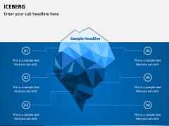Iceberg PPT slide 1