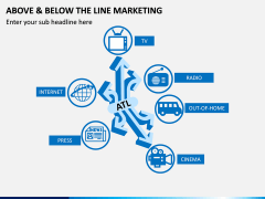 Above and Below the Line Marketing PPT Slide 7
