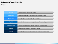 Information Quality PPT Slide 7