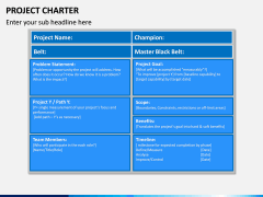 Project Charter PPT slide 12