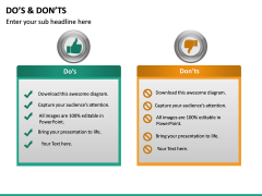Do's and Don'ts PPT slide 12