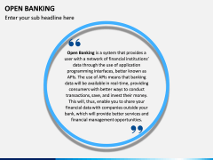Open Banking PPT slide 2