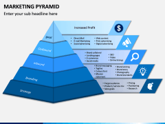 Marketing Pyramid PPT Slide 1