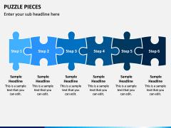 Puzzle pieces PPT slide 9