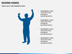 Raising Hands PPT Slide 9