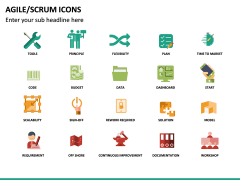 Agile SCRUM Icons PPT Slide 5