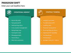 Paradigm Shift PPT Slide 24