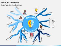 Logical thinking PPT slide 1