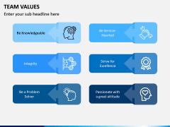 Team Values PPT Slide 6