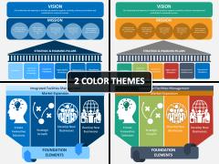 Strategic Pillars PPT Cover Slide