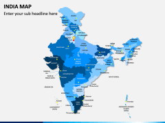 India Map PPT slide 1
