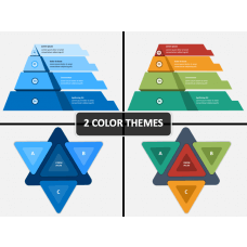 Triangle Infographics PPT Cover Slide