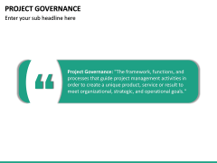 Project Governance PPT slide 15