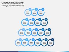 Circular Roadmap PPT Slide 15
