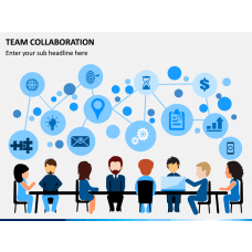 Team Collaboration PPT Slide 1