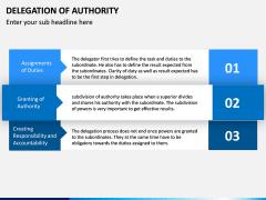 Delegation of Authority PPT slide 8