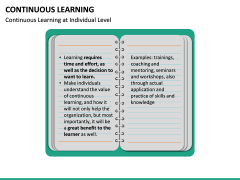 Continuous Learning PPT Slide 25