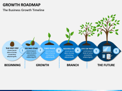 Growth Roadmap PPT Slide 4