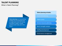 Talent Planning PPT Slide 1