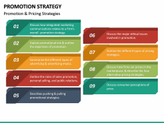 Promotion Strategy PPT Slide 33