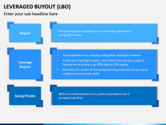 Leveraged Buyout PPT Slide 1