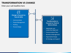 Transformation Vs Change PPT Slide 2
