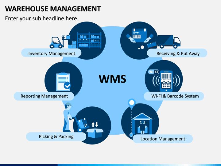 warehouse management powerpoint template