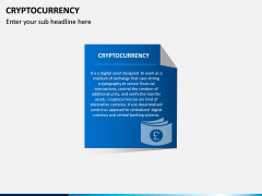Cryptocurrency PPT Slide 1
