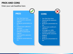 Pros and Cons PPT Slide 20