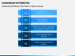 Leadership Attributes PPT Slide 4