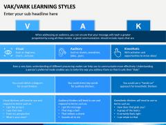 VAK Learning Styles PPT Slide 10