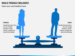 Male Female Balance PPT Slide 2