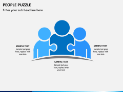 People Puzzle PPT Slide 11
