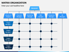 Matrix Organization PPT Slide 4
