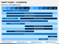 Gantt Chart PPT Slide 2