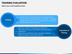 Training Evaluation PPT Slide 2