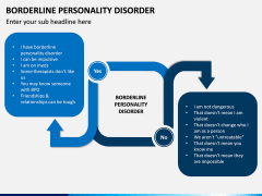 Borderline Personality Disorder (BPD) PPT Slide 1