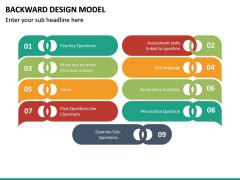 Backward Design Model PPT Slide 23