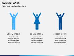 Raising Hands PPT Slide 10